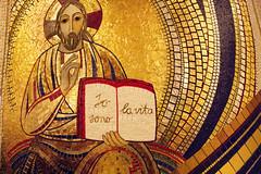 San Giovanni Rotondo (Tiziana de Martino) Tags: san mosaico chiesa papa padre puglia pio giovanni croce nuova santuario foggia rotondo