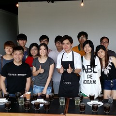 "Our recent coffee roasting & cupping session on 4 January (last Saturday). Thank you for joining us! #coffee #roasting #cupping <a style=""margin-left:10px; font-size:0.8em;"" href=""http://www.flickr.com/photos/108467722@N02/11838587856/"" target=""_blank"">@flickr</a>"