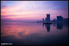 sunrise (clikd) Tags: sea sunrise boat bahrain