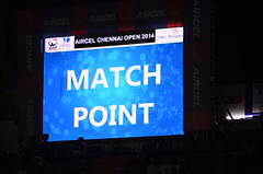 Match Point (TKCliks) Tags: tennis chennai tennismatch matchpoint chennaiopen