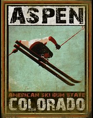AspenExtremeSkiPostcard (Watcher1999) Tags: winter ski colorado skiing aspen skibum extremeski