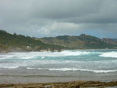 Soup Bowl Surf (rpgold) Tags: travel gold barbados 2014 rachellepaul rpgold panasonicdmczs3