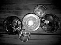 photo-1GPPfxCmcBk (unclebobjim) Tags: above glass table glasses five group