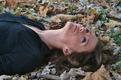 Bed of Leaves (PhotoAmateur1) Tags: she autumn portrait people favorite brown black hot cute green art fall nature girl beautiful beauty face leaves fashion lady female canon pose hair neck fun skinny outdoors nice fantastic model eyes colorful long flickr pretty close dress photoshoot adult emotion sweet body head expression top feminine gorgeous femme country curves great perspective creative young picture style babe lips her attractive stunning features chic brunette lovely elegant fabulous throat goodlooking slender stylish laying glamorous beautyshoots