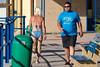 What the Shirt Said (Steve Crane) Tags: people man southafrica tshirt bikini swimsuit swimwear gordonsbay westerncape helderberg bikinibeach womanmature