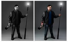 The Wizzard (Leon D'souza) Tags: lighting portrait studio photography student nikon softbox strobes