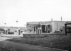 Ferryhill petrol station (seanofselby) Tags: art station 1950s petrol deco ferryhill