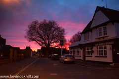 Sunrise over the White Horse pub, Richmond (www.kevinoakhill.com) Tags: pictures road city morning pink blue houses sunset red horse orange sun white house signs color colour london public colors beautiful sign yellow thames sunrise canon river lens eos dawn early photo am amazing pub kevin colours purple shot photos oakhill shots gorgeous awesome albert capital cottage picture sigma richmond 7d stunning rise inspiring upon alberts richmonduponthames thealberts 19200mm