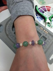 Beginner Necklace/Bracelet Class 5/13/14