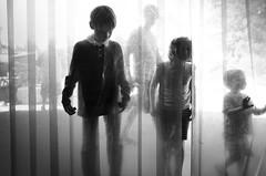 (sparth) Tags: leica blackandwhite bw silhouette kids children zoo blackwhite washington noiretblanc 28mm silhouettes x enfants tacoma noirblanc 2014 vario tacomazoo xvario leicaxvario