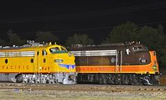 More Streamliners at Spencer (esywlkr) Tags: nc diesel northcarolina unionpacific locomotive spencer e9 e8 streamliners warrenreed northcarolinatransportationmuseum