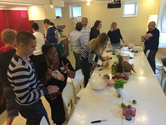 Idean theme lunch Helsinki Studio - raw thai food