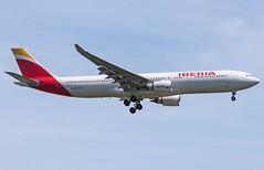 Iberia Airbus A330-302 EC-MAA (MSN007) Tags: airport air jet jfk airbus 300 airways airlines a330 airliner iberia kjfk a330302 ecmaa
