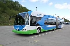 2009 New Flyer DE60A #29705 (busdude) Tags: new bus flyer community ct transit swift motor society rapid brt mbs newflyer communitytransit de60a