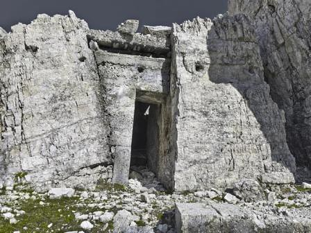 Lagazuoi, Col dei Bos Ricoveri italiani