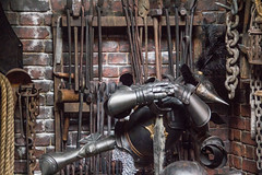 Diagon Alley details at Universal Orlando (insidethemagic) Tags: detail sign costume florida harrypotter universalstudios prop universalorlando diagonalley knockturnalley wizardingworldofharrypotter universalorlandoresort