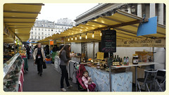 Un marché à Paris (Monica Arellano-Ongpin) Tags: paris market mercado mercato marché