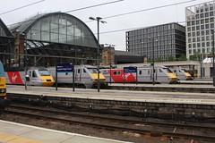 91113 91114 91116 43308 67003 (matty10120) Tags: london station train grey coast cross rail railway trains class east virgin kings 67 91 43 hst livery 43308 67003 91116 91113 91114