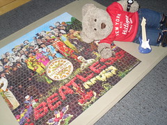 Yeah, yeah, yeah! (pefkosmad) Tags: jigsaw puzzle leisure hobby pastime 1000pieces complete tedricstudmuffin ted teddy bear cute stuffed soft toy plush fluffy
