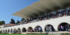 Hipódromo de la Zarzuela, Madrid (m_motylka) Tags: madrid madryt hiszpania españa otoño jesie autumn hipodromo hipica zarzuela arquitectura caballo horses