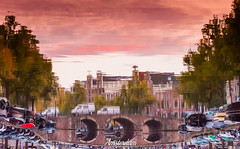 Amsterdam, Noord-Holland, Netherlands (Stewart Leiwakabessy) Tags: canalhouses houses netherlands bridge parking water grachten nederland fall canals gabledhouses hdr canal reflection clouds holland bricks bicycles noordholland bikes amsterdam cars northholland thenetherlands