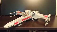 Luke's Incom T-65 X-Wing Starfighter (DJ BaLaLaWa) Tags: lego xwing lukeskywalker moc starwars