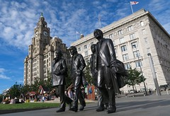 The Beatles, Liverpool (that Geoff...) Tags: liverpool mersey merseyside greatbritain british unitedkingdom gb uk canon g7x powershot thebeatles music sculpture