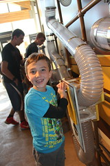 Olsen with the balls again (Aggiewelshes) Tags: october 2016 lehi utah travel museumofnaturalcuriosity thanksgivingpoint waterworks olsen