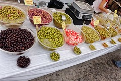 Olives and pickles (RagbagPhotography) Tags: food tuesday costacalida spain murcia losalcazares market stall onions pickles olives challenge 366 365