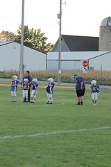1438 (bubbaonthenet) Tags: 09292016 game stma community 4th grade youth football team 2 5 education tackle 4 blue vs 3 gold