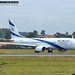 El-AL Israel 4X-EHD Boeing 737-900 at London Luton Airport