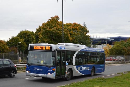 Metrobus 6624 - Route 100 - Gatwick