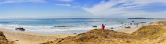 Love and the Pacific (MATluong) Tags: ocean pacific pacificocean california beach sea sky clouds blue travel seascape beautiful coast panorama panoramic highway1 highwayone matluong sonya7 sonyalphadslr sonnar5518za sel55f18z
