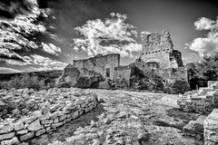 Hrvatska Abandoned Castle Dvigrad Istria Rovinj Cloud - Sky Black And White Bw_collection History Outdoors Ancient Damaged Tranquility Beauty Of Decay Old Ruin Nsnfotografie Architecture (cyberdee) Tags: hrvatska abandoned castle dvigrad istria rovinj cloudsky blackandwhite bwcollection history outdoors ancient damaged tranquility beautyofdecay oldruin nsnfotografie architecture
