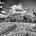 Hrvatska Abandoned Castle Dvigrad Istria Rovinj Cloud - Sky Black And White Bw_collection History Outdoors Ancient Damaged Tranquility Beauty Of Decay Old Ruin Nsnfotografie Architecture