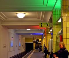 Berlin underground colors (Tobi_2008) Tags: berlin ubahn underground metro farbe color deutschland germany allemagne germania