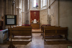 Arundel - Roman Catholic Cathedral Blessed Sacrament Chapel (Le Monde1) Tags: arundel howard dukeofnorfolk lemonde1 nikon d610 town castle cathedral romancatholic market westsussex england county uk southdowns riverarun frenchgothic architect josephaloysiushansom blessedsacrament chapel