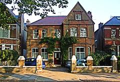 J.G. Ballard Lived Here, 69 Barrogate Road, Chiswick - London. (Jim Linwood) Tags: chiswick london england ballard