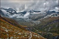 Obergabelhorn ( 4,073 m alt), and the Triftgletcher in the storm. The Htel du Trift is overbooking....No. 2587. ! ) (Izakigur) Tags: zermatt valais wallis kantonwallis cantonduvalais nikond700 nikkor2470f28 izakigur fixyou cildplay myswitzerland musictomyeyes alps alpen alpes ch coldplay swiss switzerlnad dieschweiz d700 suiza suisia suizo svizzera ilpiccoloprincipe thelittleprince lepetitprince