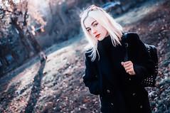 Vlada ( ) Tags: cute girl colors autumn atmospher light redlips
