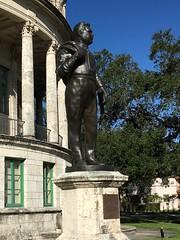 George Merrick Statue Coral Gables City Hall (Phillip Pessar) Tags: george merrick statue coral gables city hall
