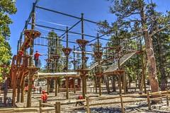 Rope Course (joe Lach) Tags: ropecourse heavenlymountainresort gondola construction build offseasonskiresort climbing confidencecourse laketahoe california joelach
