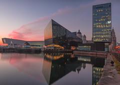 Liverpool Docks (LKB_Photography) Tags: liverpool longexposure leefilters canon5d sunset love beauty