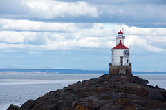 North Shore Trip - Oct 2016 - Superior Entry Lighthouse (pmarkham) Tags: lighthouse lakesuperior superiorentry superior wi usa
