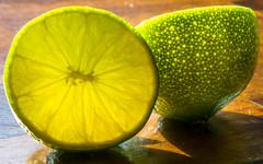 Lime (davecrev) Tags: hmm macromonday lime backlit