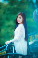 _Z4A4809 (Kalenty) Tags: loft coffee girl white balcony green beauty beautiful long hair vietnam hochiminh saigon