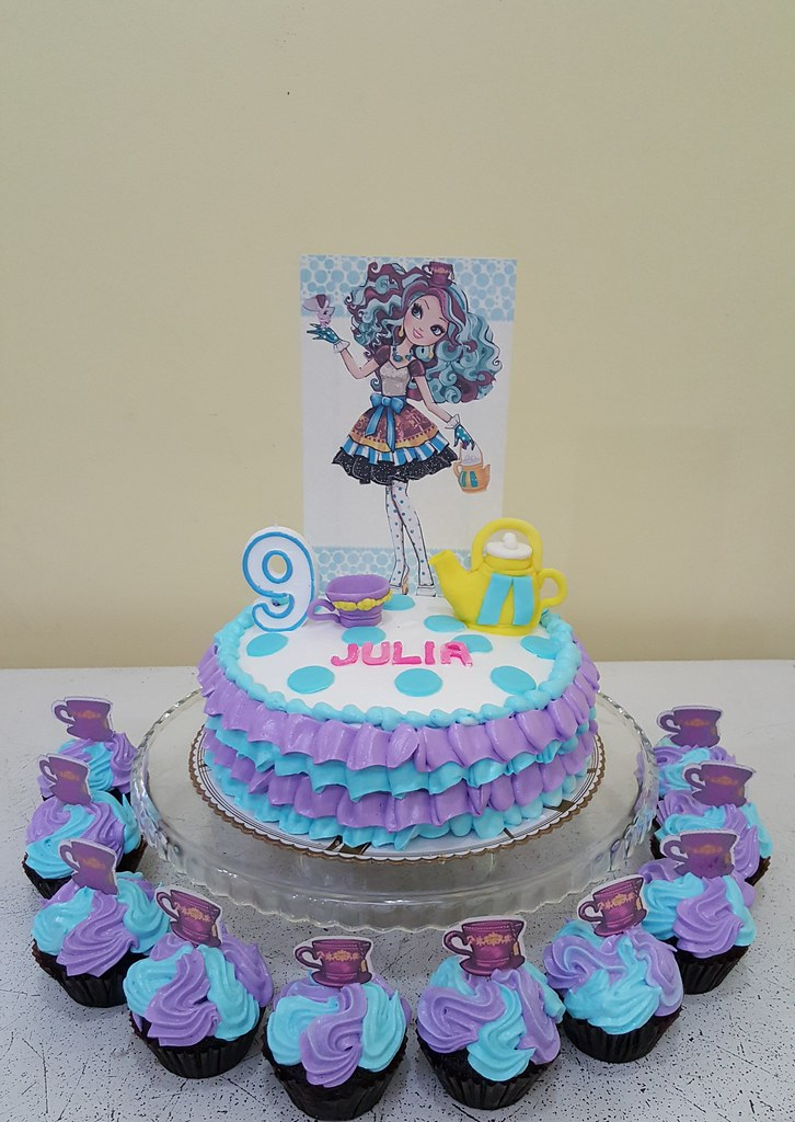 Madeline Hatter Cake DC Cafe Roxas Tags Birthday Dc