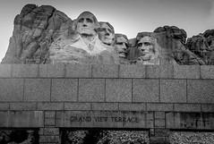 Mount Rushmore National Memorial (shripadjoshi) Tags: blackandwhite president nyip pres bampw southdakota presidenttrail