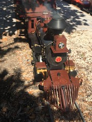 Steam on the Largo Central Railroad (st_asaph) Tags: largocentralrailroad mogul 260 denverriogrande miniaturerailway pinellas largo largocentralpark