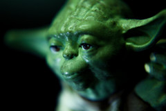 Macro Mondays: Mysterious: Yoda (plz read Description) (Mark & Cy Photos) Tags: angle art artificial background blurred body character close closeup composition crafts fantasy fiction focus format framing general grand head headshot horizontal indoor interior jedi light lighting macro master mythical order orientation parts photo photography portrait profile scifi setting shot star style universe up view wars mondays mysterious macromondays